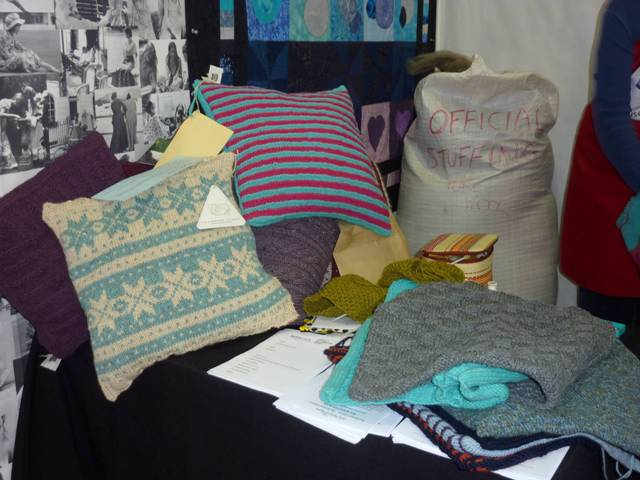 The Knitting and Stitching Show 6 - 9 October 2011 Alexandra Palace, London ...