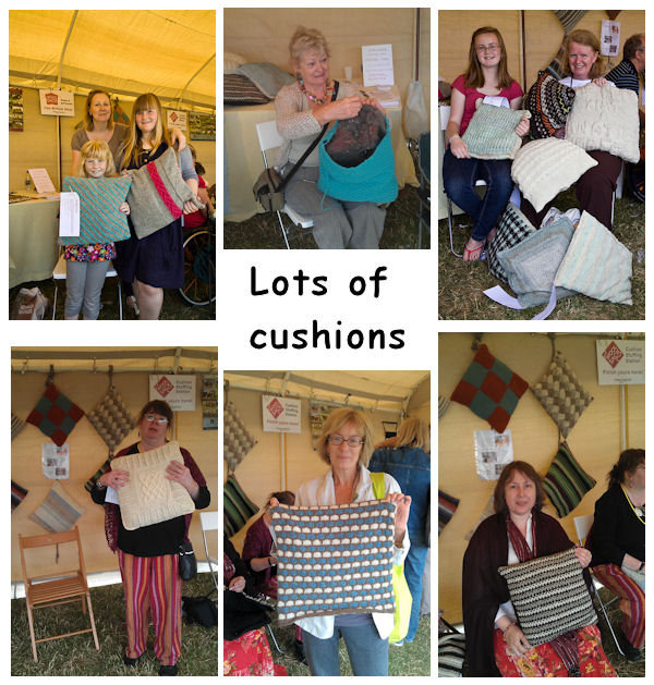 Lots of cushions